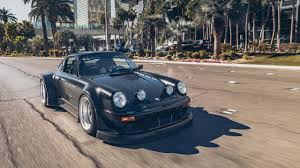porsche 964 wide body are sema cars all show and no go we take a widebody porsche 964 on