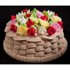 flower basket online noida cake delivery shop flower basket cake
