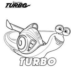 turbo coloring pages activity worksheets birthdays