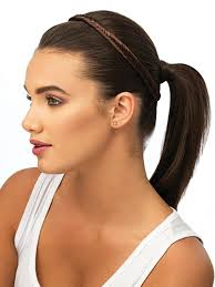 headband hair extensions fishtail braid headband pop by hairdo hair extensions