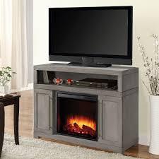 muskoka mackenzie 48 in media electric fireplace in light