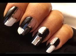easy nail polish designs using tape cute nail designs short nails