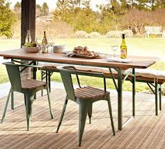 Partery Barn Home Design Fabulous Outdoor Foldable Table 700 Pottery Barn