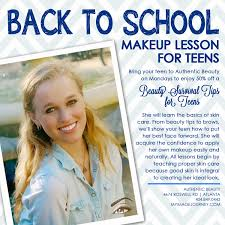 makeup classes for teenagers makeup authentic beauty