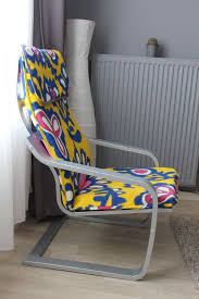 rocking chair cover 6 ikea poang chair uses and 22 awesome hacks digsdigs