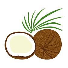 coconut tree cuttable design