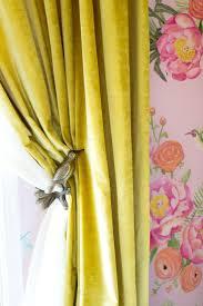 Neon Green Curtains by Best 25 Velvet Curtains Ideas On Pinterest Velvet Curtains