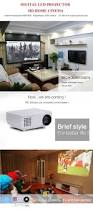 led tv home theater package rigal 805 lcd hd 1080p portable led projector hdmi vga av usb sd