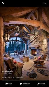 Log Cabin Home Interiors by 1193 Best Homes Rooms Images On Pinterest Architecture Log