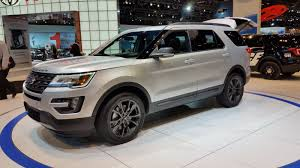 2017 ford explorer xlt sport appearance package review top speed