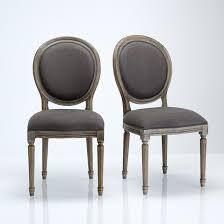 chaises medaillon chaise médaillon lot de 2 nottingham la redoute interieurs la