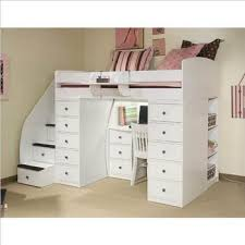 South Shore Imagine Loft Bed Best Bunk Beds With Stairs For Boys To Play U0026 Sleep Well