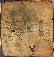 Skyrim Treasure Map Iv Alik U0027r Desert Treasure Map Ii Elder Scrolls Fandom Powered By