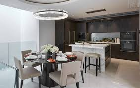 kitchen breakfast table sophie mirrored dining table london townhouse kitchen breakfast