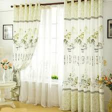 Asian Curtains High End Light Green Asian Curtains Customize