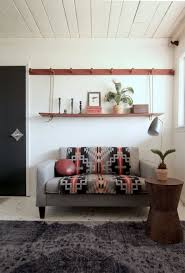 space seating make a diy peg rail create a killer small space seating area