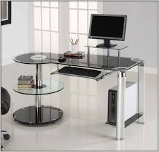 contemporary corner desk home office desk home design ideas