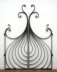 wrought iron grill work with handblown glass anselm studio in