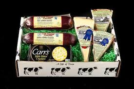 summer sausage gift basket local carr valley cheese sausage box gift baskets boxes lodi wi