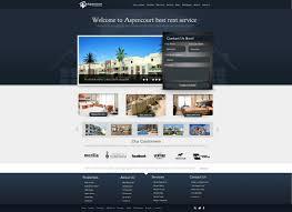 Brilliant Apartment Website Design Real Estate N With Ideas - Designing apartments