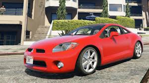 2007 mitsubishi eclipse modified gta v mitsubishi eclipse 2006 add on replace enromovies youtube