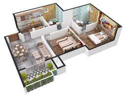 910 sq ft 2 bhk 2t apartment for sale in siddha group happyville