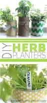 herb planter diy diy herb planters
