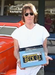 jeff beck greets fans in celebration of new book