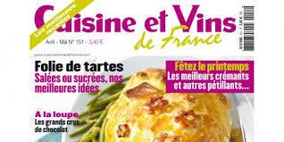 cuisine vins magazine