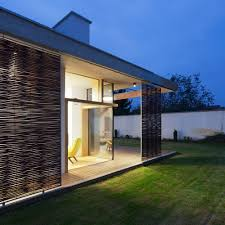 m modern two bedrooms house concrete rectangular architecture pics