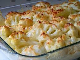 cuisine choux fleur gratin de chou fleur pommes de terre et parmesan recipe food