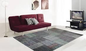 tappeto soggiorno gallery of tappeto moderno a righe multicolore tappeti economici
