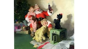 the true history of the modern day santa claus the coca cola company