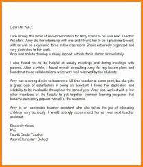 8 sample letters of recommendation for teachers art resumed