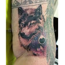 galaxy wolf tattoo tattoos tattooart ink inked insta u2026 flickr