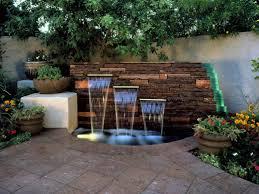 Backyard Feature Wall Ideas Cool Backyard Feature Wall Ideas Stylish 15 Unique Garden Water