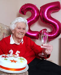 margaret ware great grandmother to celebrate 25th birthday with