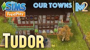 Tudor Home Designs Sims Freeplay Tudor Cottage Original House Design Youtube