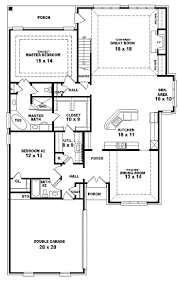 four bedroom ranch house plans traditional ranch house plan single level one story also home