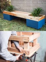 Wood Planter Bench Plans Free by Diy Corner Planter Bench Free Outdoor Plans Diy Shed Wooden