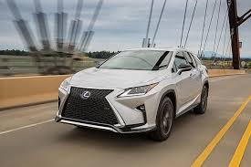 lexus rx450h sport 2016 lexus rx review racy styling and practicality rolled up into