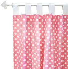 Pink Nursery Curtains Pink Polka Dot Curtains Pink Curtains Nursery Curtains