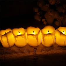 led tea lights with timer 12pcs flameless candles with timer electric amber yellow candle led