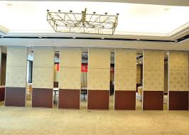 Movable Wall Partitions Aluminium Movable Wall Panels Exhitibition Partition System For