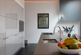 decoration ideas casual kitchen decoration using two tone accent