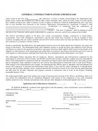 contract contractor liability waiver form