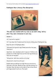 paddington bear literacy for eyfs by joscelynh teaching