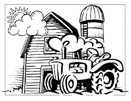 Farm Coloring Pages Coloring Pages To Print Farm Color Page