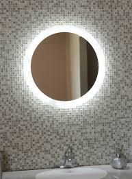 Illuminated Bathroom Wall Mirror Led Illuminated Bathroom Mirror With Lights Lighting
