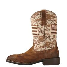 womens size 11 square toe cowboy boots ariat s sport patriot cowboy boots 678105 cowboy